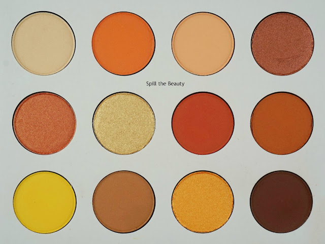colourpop yes please palette review swatches look