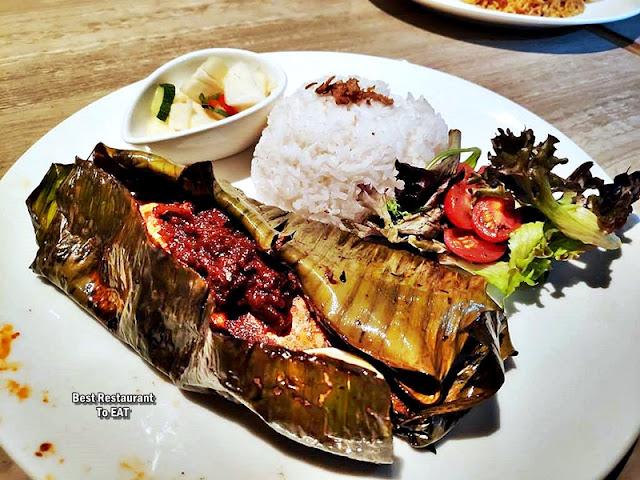 The Club @ G Tower Hotel New Menu - Ikan Bakar Kampung Style