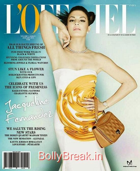 Jacqueline Fernandez, January Cover Girls Hot Pics