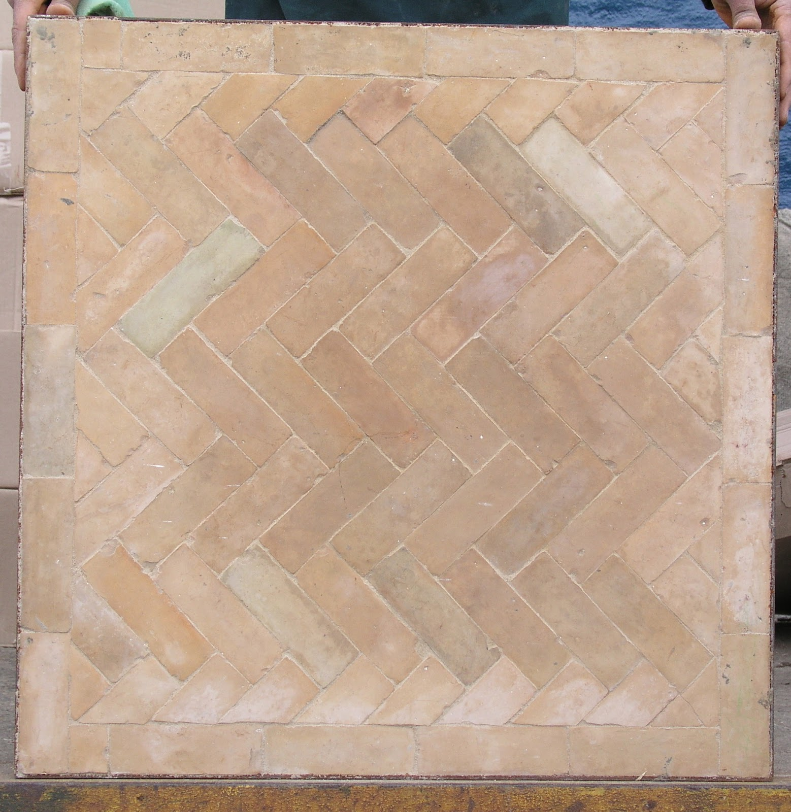 Imports From Marrakesh: Bejmat Tile