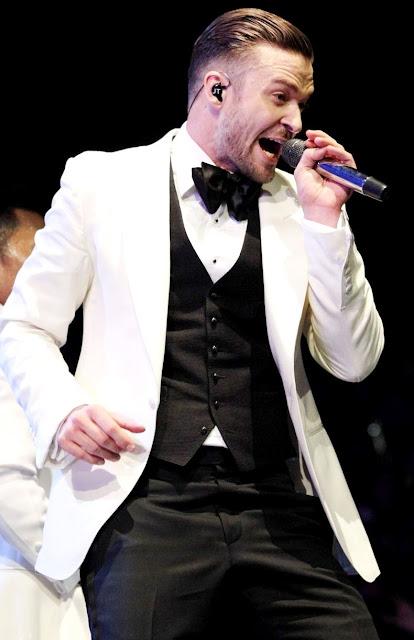 Foto de Justin Timberlake en concierto