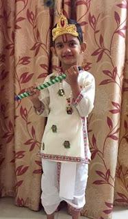 Arnav, Little, Krisna, Janmashtami,