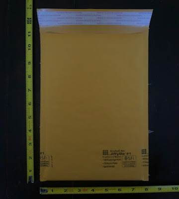 #1 bubble mailer with measurements
