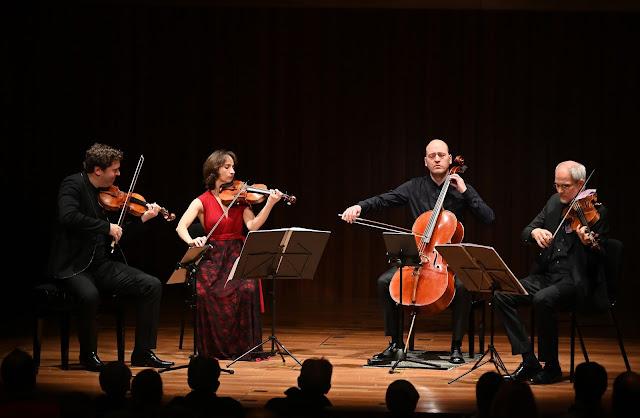 Casals Quartet at Milton Court 2019 (Photo  Mark Allan / Barbican)