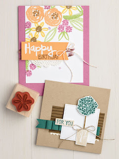 Stampin' Up! Paint Play Card Samples ~ 2017-2018 Annual Catalog