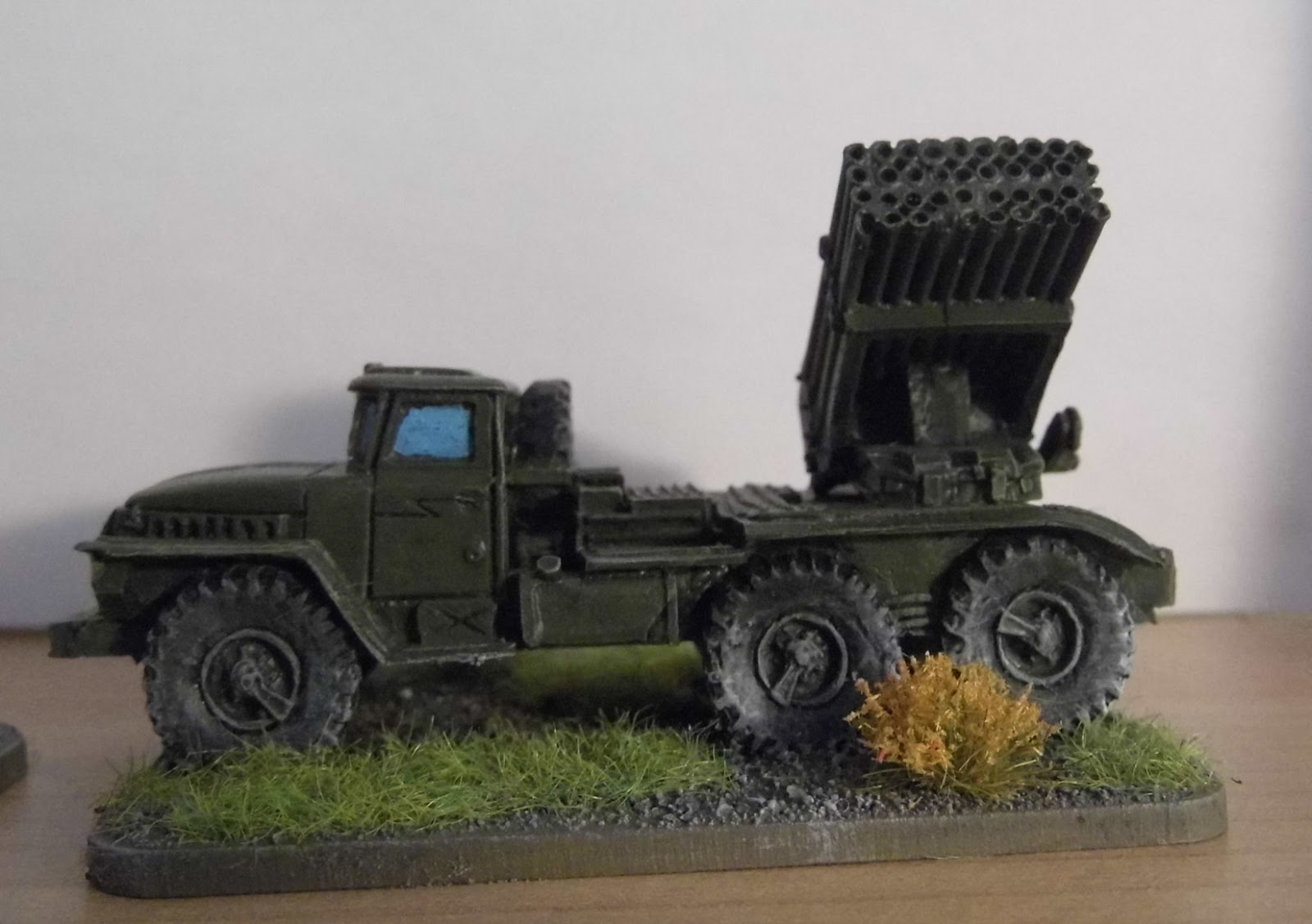 the angry lurker 15mm modern team yankee bm 21 grad 122mm multiple rocket launch system. Black Bedroom Furniture Sets. Home Design Ideas