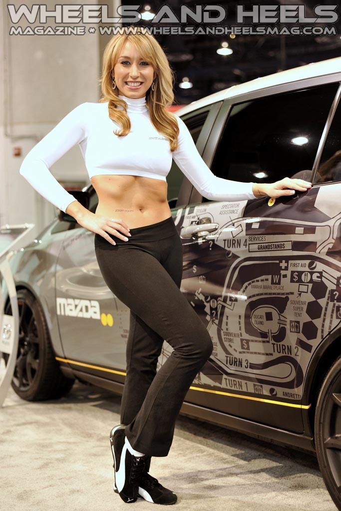 Mazda 3 Wheels >> SEMA is Coming Soon! Miss Magnaflow Amanda Landry and More ...