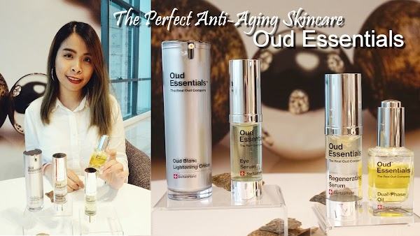 OUD ESSENTIALS - The World's First Oud-based Anti-Aging Skin care Line