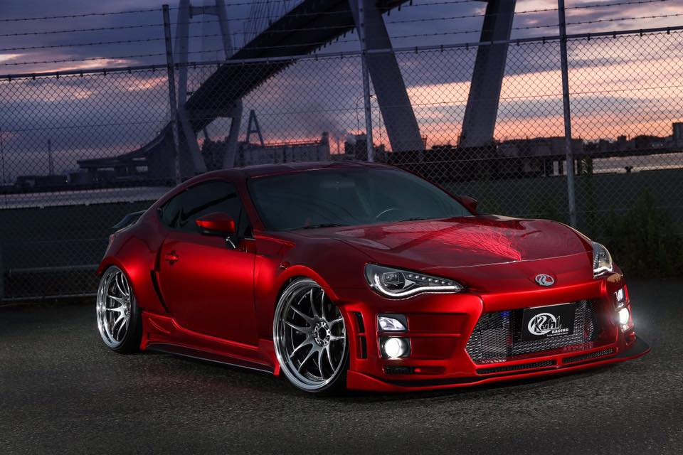Kuhl Racing Makes The Bland Toyota 86 Look Extraordinary