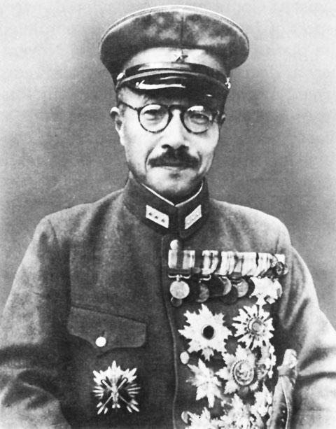 Hideki Tojo adalah penjahat perang yang telah membantai jutaan jiwa di china
