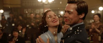 coppia Cotillard e Pitt ballo