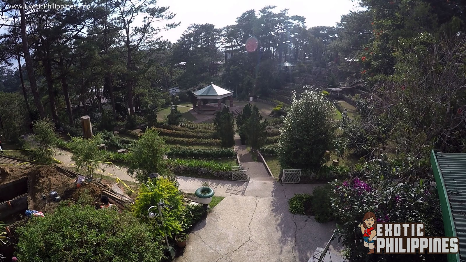 Bell House and Bell Amphitheater at Camp John Hay
