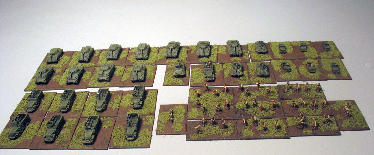 Jerry's Big Picture: WW2 Micro Armor: US Armored Infantry