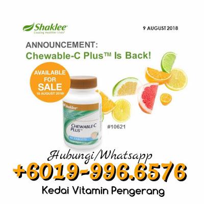 Manfaat Dan Khasiat Chewable Vitamin C Shaklee Untuk Kanak-Kanak, Chewable vitamin c shaklee, Pengedar Shaklee pengerang, pengedar shaklee bandar penawar, pengedar shaklee malaysia, pengedar shaklee paka,