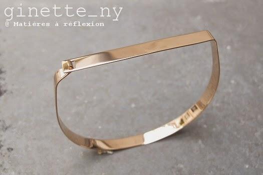 Eshop Ginette NY nouvelle collection : le bracelet Baguette