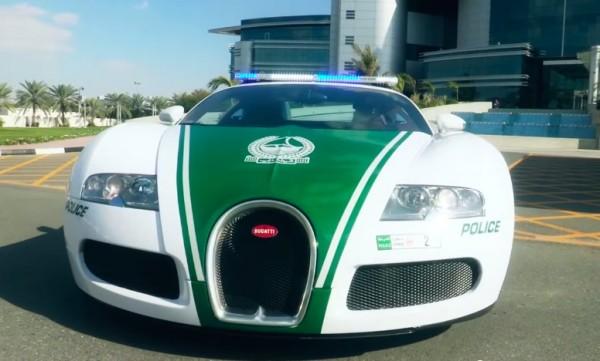 Polizeiauto Dubai
