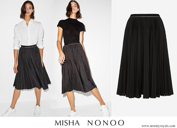 Meghan Markle wore Misha Nonoo Saturday Skirt