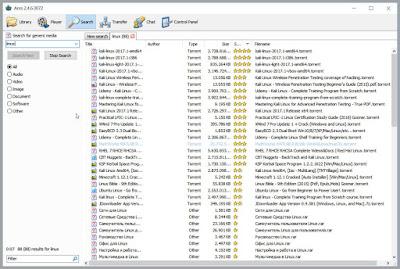 Ares : Διαμοιράστε και κατεβάστε αρχεία, φωτογραφίες, προγράμματα