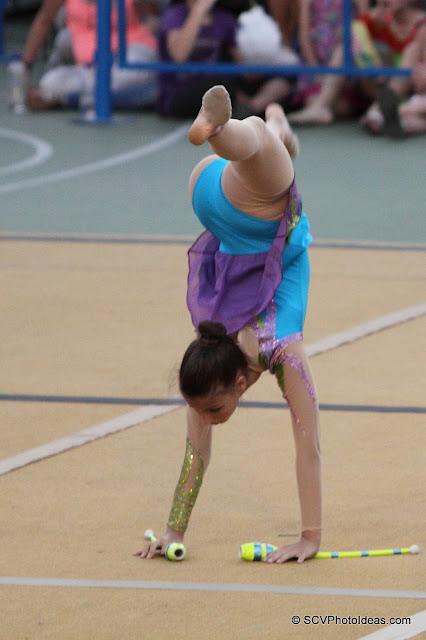 Rhythmic Gymnastics III - floor program clubs
