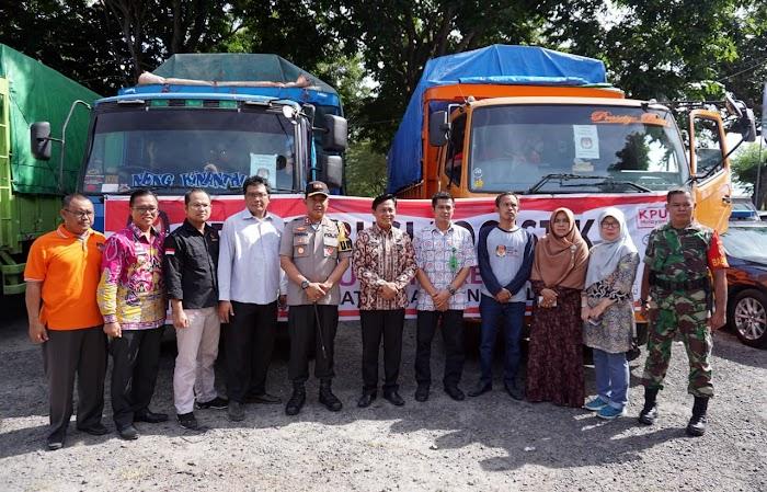 Kapolres Lampung Selatan AKBP M. Syarhan Jamin Keamanan Pemilu 2019.