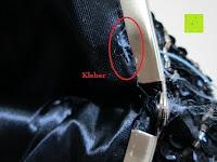 Kleber: Sumolux Schöne Handtasche Tasche Partytasche Abendtasche Tasche für Frauen Tasche für Damen Lila
