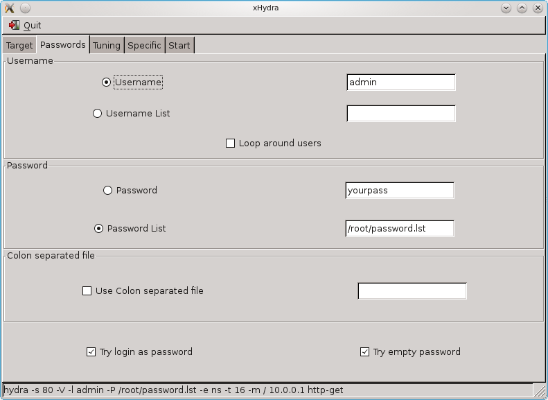 Computer Expert Hackers: Using Xhydra to Hack Router