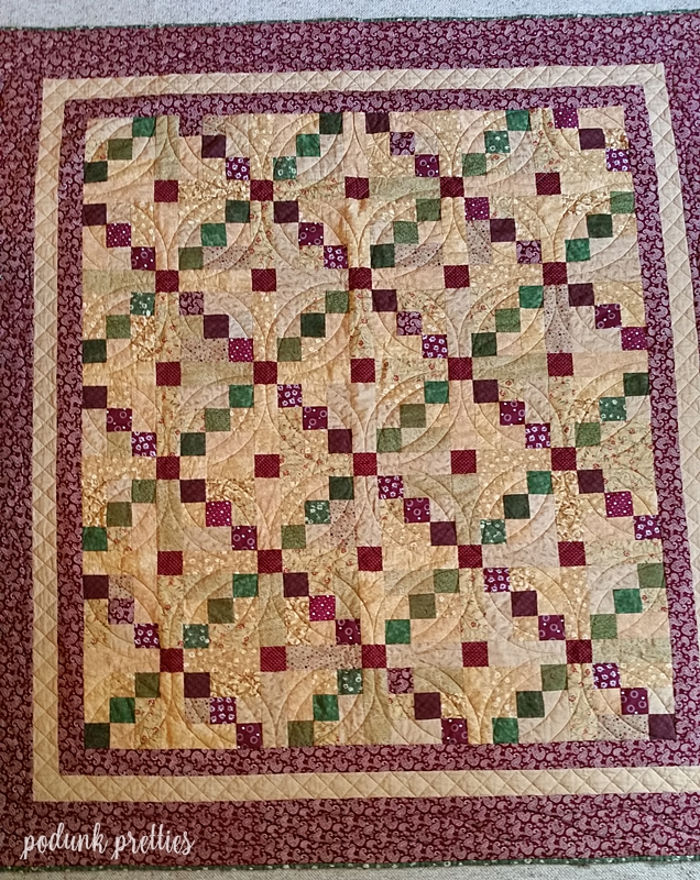 Podunk Pretties: Simple quilt finish and quicky tutorial : easiest quilt tutorial - Adamdwight.com