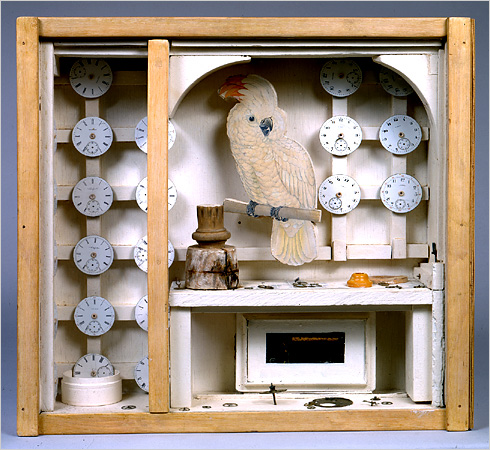 """Untitled (Cockatoo with Watch Faces)"" (circa 1949) CreditMichael Tropea/VAGA, New York"