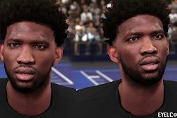 NBA 2K19 - Joel Embiid Cyberface by dabaoge