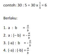 Materi ajar matematika operasi hitung bilangan bulat penjumlahan, perkalian, pembagian dan invers