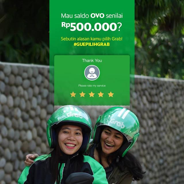 saldo OVO senilai Rp500.000