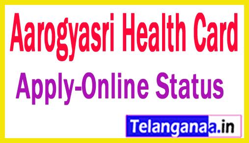 How to Apply for Aarogyasri Health Card in Telangana State Aarogyasri Card Status