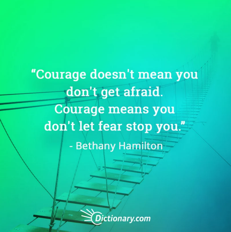what courage means to you essay It takes what courage means to me essay a lot of courage for people to say that they want to be in the military if you find emerson uses several words that are not.