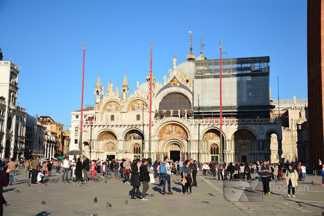 Bazylika Świętego Marka w Wenecji - największa atrakcja turystyczna w Wenecji