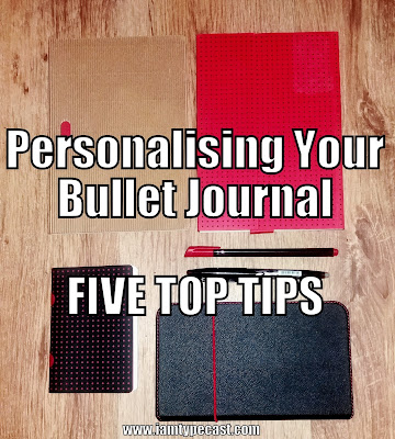 Personalising Your Bullet Journal - 5 Top Tips