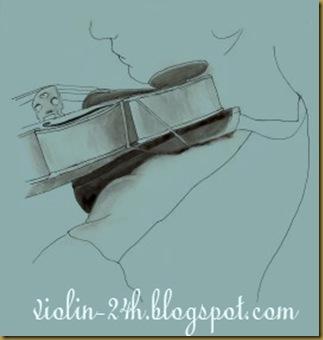 Cách giữ đàn violin