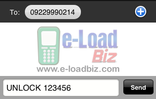 Loadcentral Unlock Webtool SMS Command