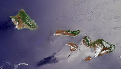 Hawaiian islands formation show creation