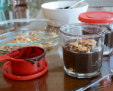 Easy-Easy Chocolate Coconut Pudding