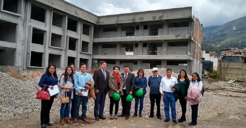 PRONIED plantea pasos para reiniciar ejecución de obras en la IE José Gálvez Egúsquiza de Cajamarca - www.pronied.gob.pe