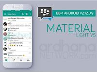 BBM Material Light Versi 5 Terbaru