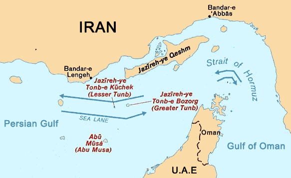 EagleSpeak - Map of us navy 5th fleet area of responsibility