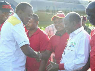 Ken Nyale gets another assurance from Mijikenda Kaya elders witnessed by President Kenyatta.
