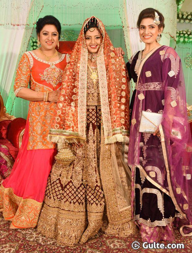 Sameera Sherief At Sana S Daughter Tabasum Wedding