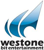 Logo de Westone con el texto: Westone Bit Entertainment