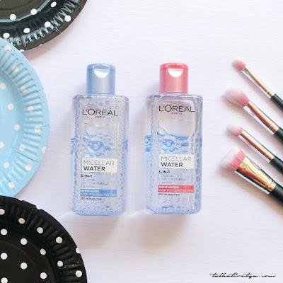 Loreal Paris Micellar Water untuk makeup remover