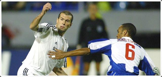 Costinha Porto Zidane Real Madrid