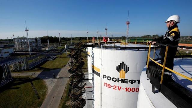 Rosneft defiende la legalidad de sus operaciones en Venezuela