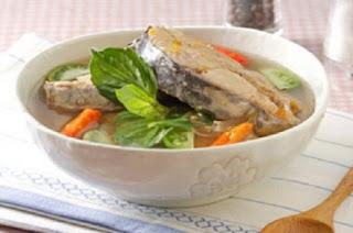 Resep masakan soup ikan pedas