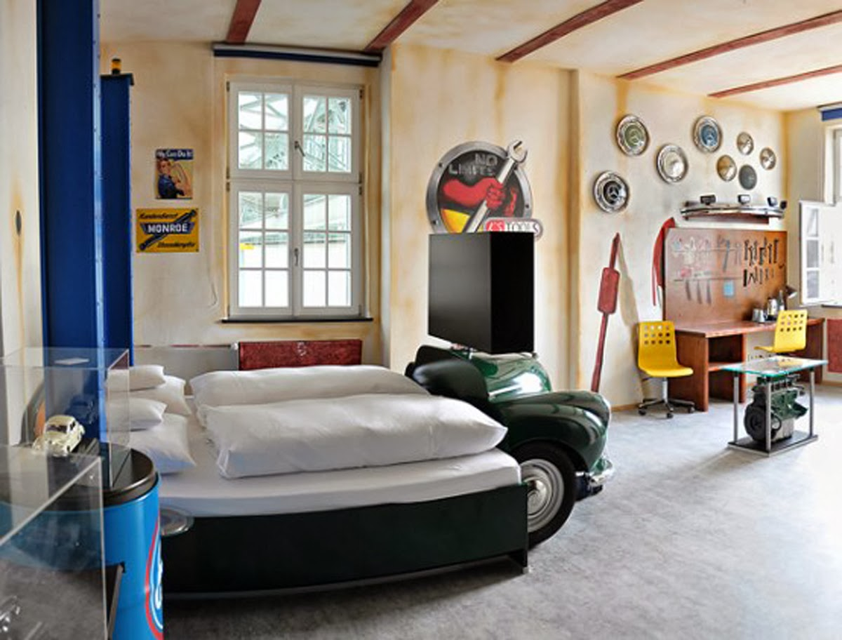 Desain Kamar Tidur Unik Interior Rumah
